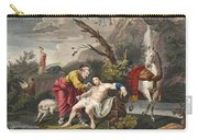 The Good Samaritan, Illustration Carry-all Pouch