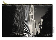 The Grace Building And The Chrysler Building - New York City Carry-all Pouch