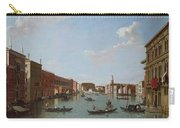 The Grand Canal And San Geremia, Venice, 18th Century Carry-all Pouch