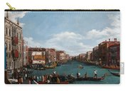 The Grand Canal At Venice Carry-all Pouch by Antonio Canaletto