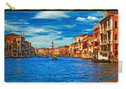 The Grand Canal Impasto Carry-all Pouch