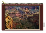 The Grand Canyon Carry-all Pouch by Tom Prendergast