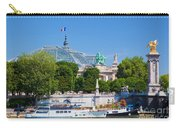 The Grand Palais And The Alexandre Bridge Paris Carry-all Pouch