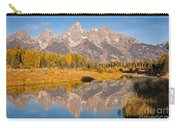 The Grand Tetons At Schwabacher Landing Grand Teton National Park Carry-all Pouch