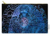 The Great Amma In Black Light Carry-all Pouch