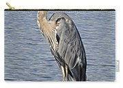 The Great Blue Heron Photo Carry-all Pouch
