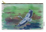 The Great Blue Heron Carry-all Pouch