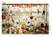 The Great Coney Island Water Carnival Carry-all Pouch by Georgia Fowler