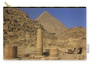 The Great Pyramids Giza Egypt  Carry-all Pouch by Ivan Pendjakov
