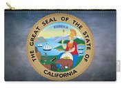 The Great Seal Of The State Of California Carry-all Pouch