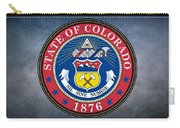 The Great Seal Of The State Of Colorado Carry-all Pouch