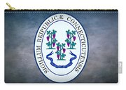 The Great Seal Of The State Of Connecticut Carry-all Pouch