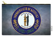 The Great Seal Of The State Of Kentucky  Carry-all Pouch