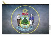 The Great Seal Of The State Of Maine  Carry-all Pouch