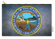 The Great Seal Of The State Of Minnesota Carry-all Pouch