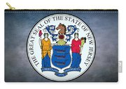 The Great Seal Of The State Of New Jersey Carry-all Pouch