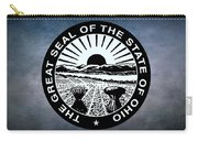 The Great Seal Of The State Of Ohio  Carry-all Pouch