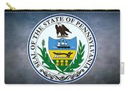 The Great Seal Of The State Of Pennsylvania  Carry-all Pouch