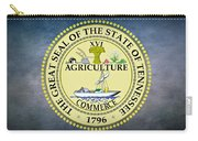 The Great Seal Of The State Of Tennessee Carry-all Pouch by Movie Poster Prints