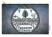 The Great Seal Of The State Of Vermont Carry-all Pouch