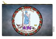 The Great Seal Of The State Of Virginia  Carry-all Pouch