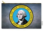 The Great Seal Of The State Of Washington Carry-all Pouch
