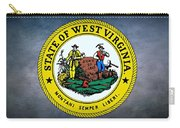 The Great Seal Of The State Of West Virginia Carry-all Pouch