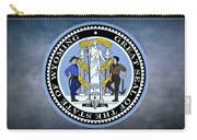 The Great Seal Of The State Of Wyoming Carry-all Pouch