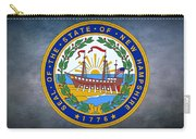The Great Seal Of The State Of New Hampshire Carry-all Pouch