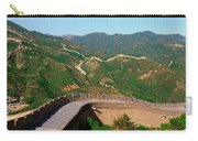 The Great Wall At Badaling In Beijing Carry-all Pouch