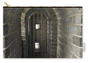The Great Wall Of China At Badaling - 10 - Inside The Guardhouse  Carry-all Pouch
