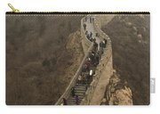 The Great Wall Of China At Badaling - 3 Carry-all Pouch