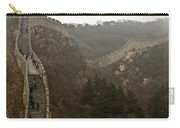The Great Wall Of China At Badaling - 7  Carry-all Pouch
