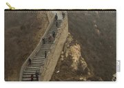 The Great Wall Of China At Badaling - 8  Carry-all Pouch