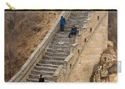 The Great Wall Of China At Badaling - 9 - A Close Up  Carry-all Pouch