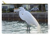 The Great White Egret Carry-all Pouch