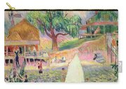 The Green Beach Cottage Carry-all Pouch