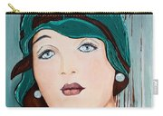 Green Cloche Carry-all Pouch