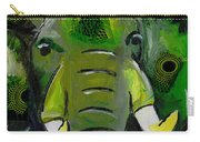 The Green Elephant In The Room Carry-all Pouch