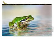 The Green Frog Carry-all Pouch by Robert Bales