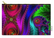 The Green Leaf Fractal Carry-all Pouch
