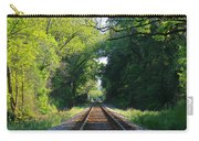 The Green Line Railroad Track Art Carry-all Pouch