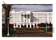 The Greenbrier Resort Carry-all Pouch