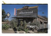 The Greenwood Dancehall And Saloon Bluff Dale Texas Carry-all Pouch