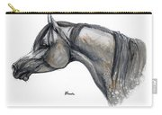 The Grey Arabian Horse 11 Carry-all Pouch