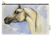 The Grey Arabian Horse 12 Carry-all Pouch