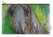 The Grey Arabian Horse 17 Carry-all Pouch