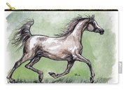 The Grey Arabian Horse 8 Carry-all Pouch