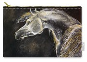 The Grey Arabian Horse 9 Carry-all Pouch