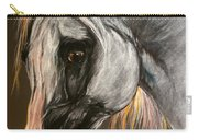 The Grey Arabian Horse Carry-all Pouch